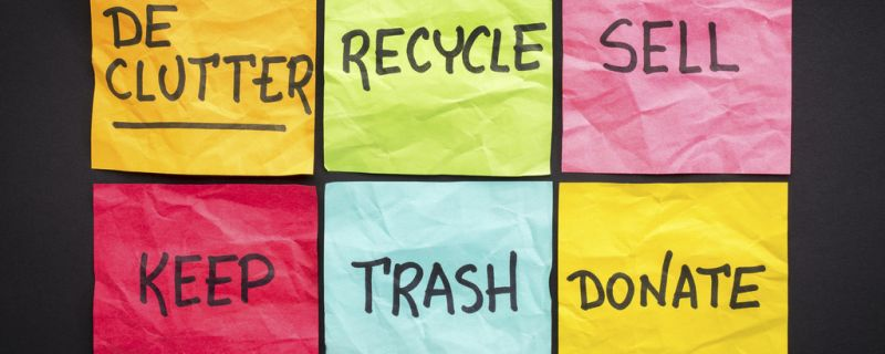 8 POWERFUL STEPS TO DECLUTTER, LET GO AND RENEW by James Mapes